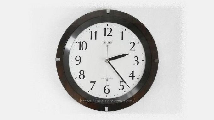 リズム時計リズム時計リバライト壁掛け時計の画像