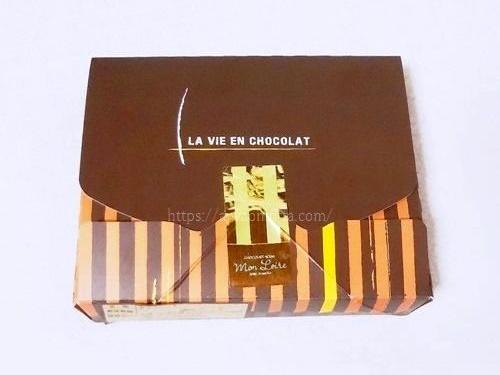 モンロワールチョコレートの箱の画像