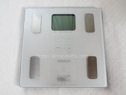 オムロン体重計・体組成計HBF-215Fの画像