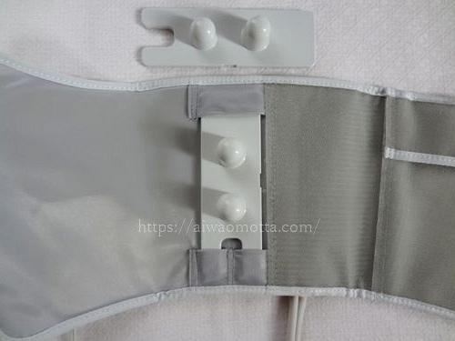 パナソニックレッグリフレEW-NA31の付属品の画像