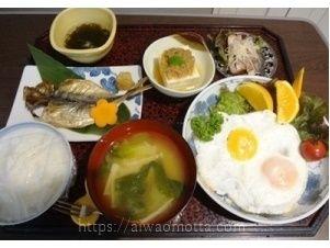 入院中の食事の画像