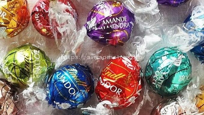 リンツのリンドールチョコレートの画像