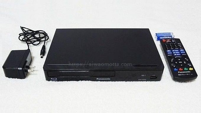パナソニックブルーレイプレーヤーDMP-BD90の画像