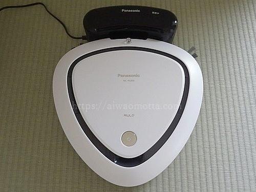 ロボット掃除機パナソニックのルーロMC-RS300-Wの画像