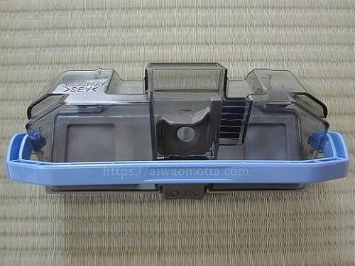 パナソニックのルーロMC-RS300-Wのダストボックスの画像