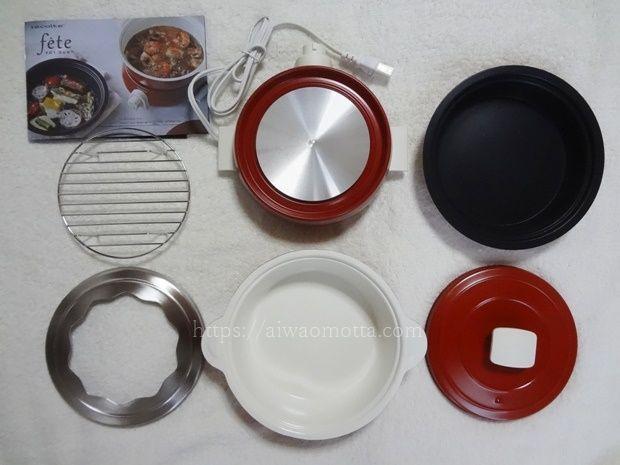 レコルトポットデュオフェットの電気調理器具の画像