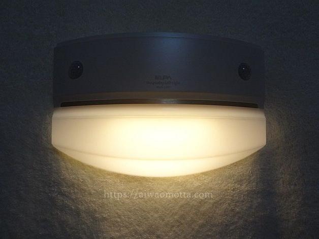 ELPAもてなしのあかり階段廊下用LEDライトHLH-1204の画像