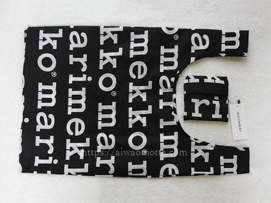 マリメッコスマートバッグ、マリロゴ柄の画像