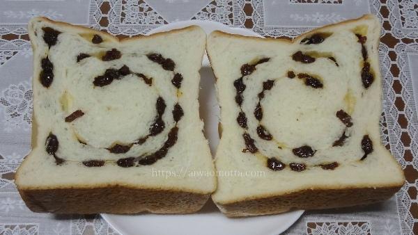 一本堂のレーズン食パンの画像