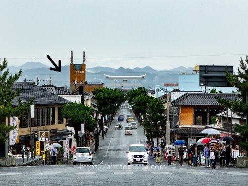 出雲大社の神門通りの画像