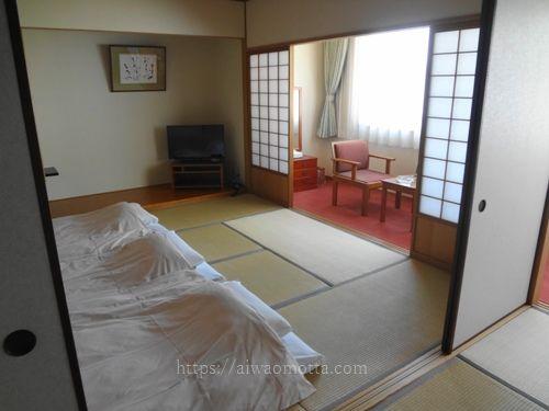 ホテルメルパルク広島の和室の画像