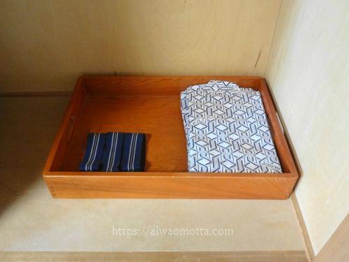 ホテルメルパルク広島の浴衣の画像
