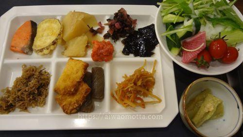 ホテルみや離宮の朝食バイキング料理の画像
