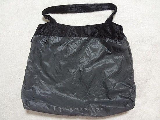 シートゥサミットのウルトラシルショッピングバッグにアイロンを当てた画像