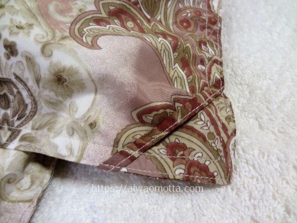 テレビショッピング、モリリンの肌掛けダウンケットのカバー用取っ手部分の画像